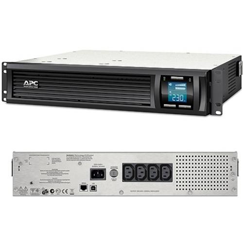 Источник бесперебойного питания APC Smart-UPS C 1000VA (SMC1000I-2U)