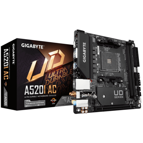 Материнская плата Gigabyte A520I AC