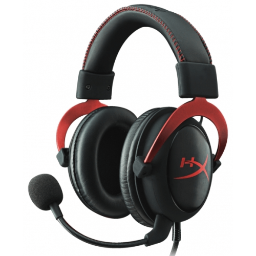 Гарнитура Kingston HyperX Cloud II Gaming Headset Red (KHX-HSCP-RD)