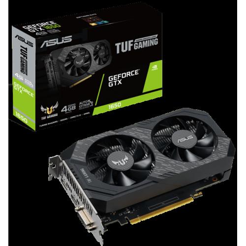 Видеокарта ASUS GeForce GTX 1650 (TUF-GTX1650-4GD6-GAMING)