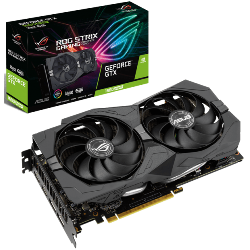 Видеокарта ASUS GeForce GTX 1660 SUPER (ROG-STRIX-GTX1660S-A6G-GAMING)