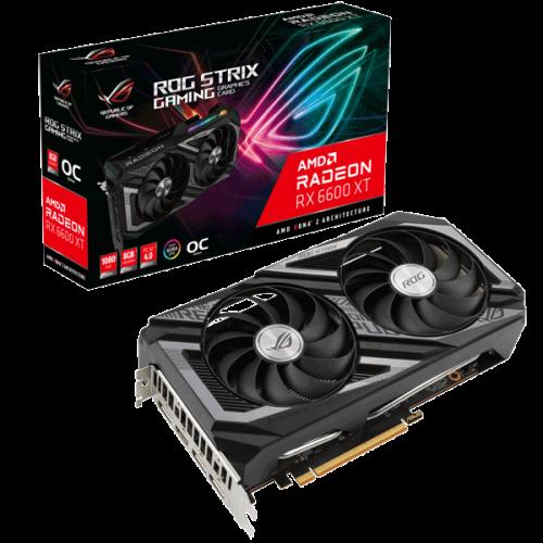 Видеокарта ASUS Radeon RX 6600 XT (ROG-STRIX-RX6600XT-O8G-GAMING)