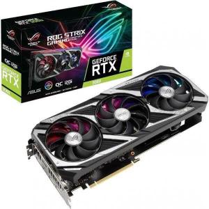 Видеокарта ASUS GeForce RTX 3060 LHR (ROG-STRIX-RTX3060-O12G-V2-GAMING)