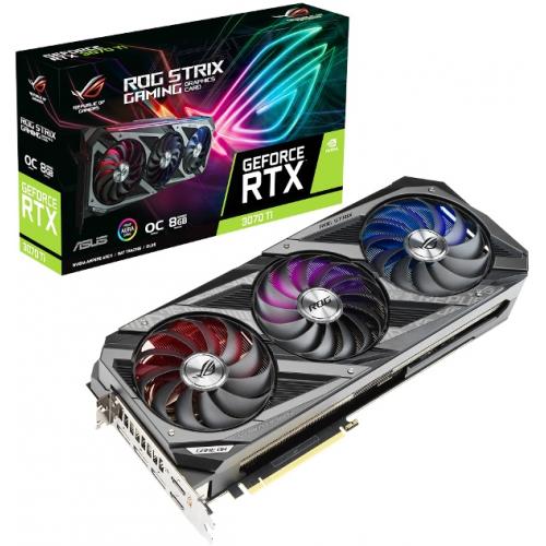 Видеокарта ASUS GeForce RTX 3070 Ti (ROG-STRIX-RTX3070TI-O8G-GAMING)