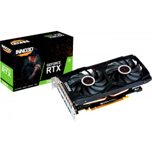 Видеокарта Inno3D GeForce RTX 2060 Twin X2 (N20602-06D6-1710VA15L)