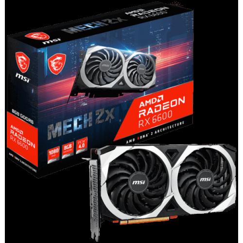 Видеокарта MSI Radeon RX 6600 (RX 6600 MECH 2X 8G)
