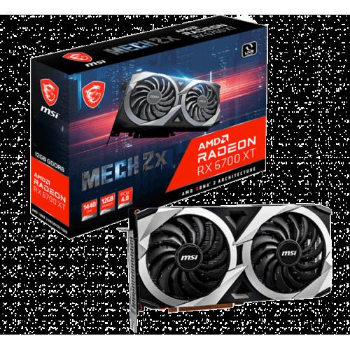 Видеокарта MSI Radeon RX 6700 XT (Radeon RX 6700 XT MECH 2X 12G)