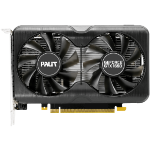 Видеокарта Palit GeForce GTX 1650 Gaming Pro 4G D6 (NE6165001BG1-166A)