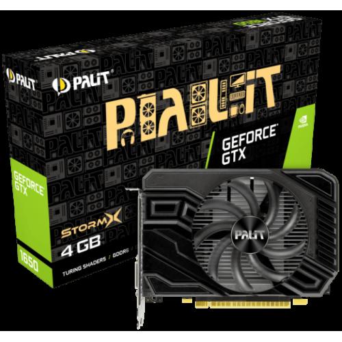 Видеокарта Palit GeForce GTX 1650 StormX D6 (NE61650018G1-166F)