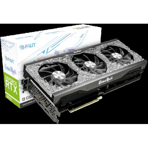 Видеокарта Palit GeForce RTX 3070 GameRock (NE63070019P2-1040G)