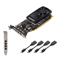 Видеокарта PNY NVIDIA Quadro P1000 (VCQP1000DVI-PB)