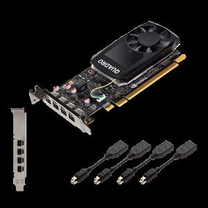 Видеокарта PNY NVIDIA Quadro P1000 V2 (VCQP1000V2-PB)