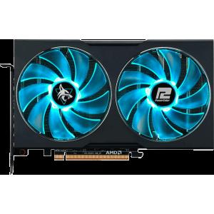 Видеокарта PowerColor Radeon RX 6600 XT Hellhound (AXRX 6600XT 8GBD6-3DHL/OC)